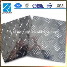 aluminum checker plate , non-slip metal plate of aluminum