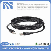 30FT étanche à l'extérieur utp Cat6 Ethernet Internet Lan Cable