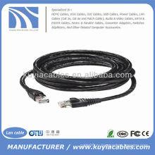 30FT Водонепроницаемый наружный кабель LAN LAN Ethernet utp Cat6 LAN