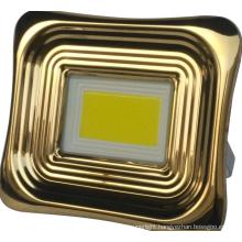 Aluminum solar flood light for home