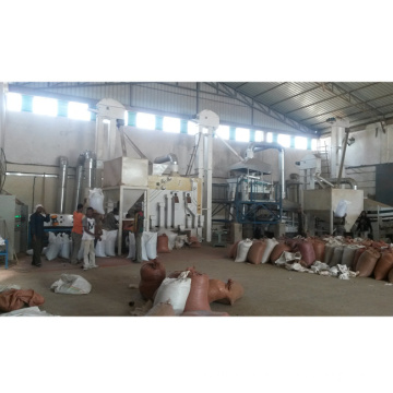 sesame cleaning processing machine plant