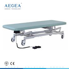 Mesa de examen eléctrica de hospital ajustable AG-ECC03 CE ISO para la venta