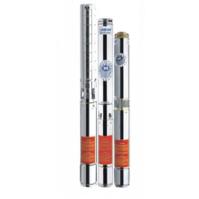 SJ stainless steel multi-level deep well submersible pump