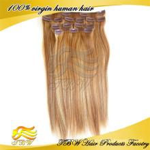 Nouvelle pince à cheveux humaine arrvial en poils pour éclaircir les cheveux