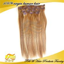 Новый arrvial человеческих волос клип в части волос для прореживания волос