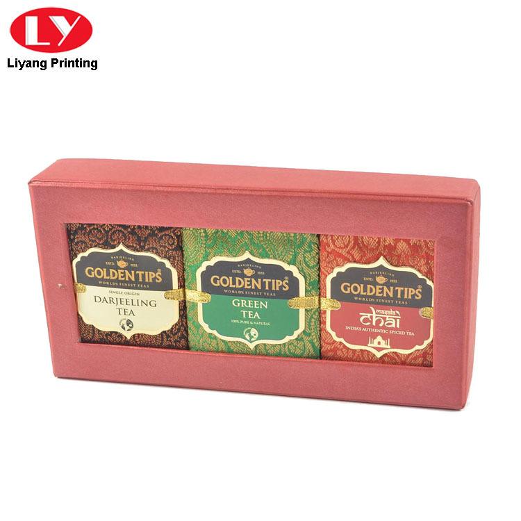 Tea Box Red