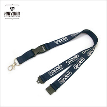 Great Quality Exhibition Flat Polyester Lanyard