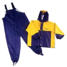 Yj-6089 Bavettes imperméables Pantalons pluie Pantalons pluie enfant Manteaux