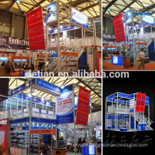 Double deck system Booth design trade show display stand modular exhibition display Double deck system Booth design trade show display stand modular exhibition display system