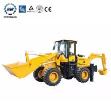 HW10-20 HENGWANG 2.5ton compact tractor backhoe loader for sale
