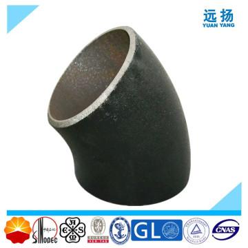 Coude en acier au carbone sans soudure 45deg
