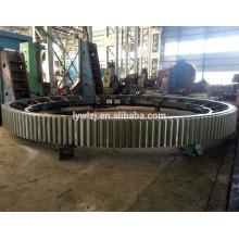 De Buena Calidad Engranaje de anillo de acero del bastidor del OEM para el molino de bolas hecho en China
