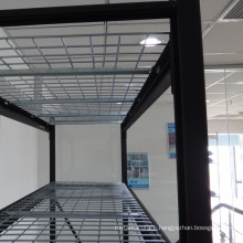 Warehouse storage system industrial racks