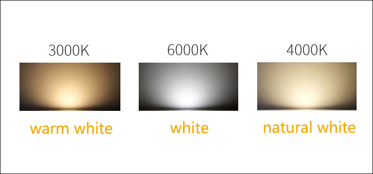 4000K White LED Temperature