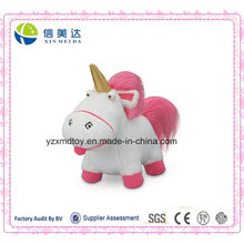 Plush Lovable Fluffy Unicorn brinquedo de pelúcia