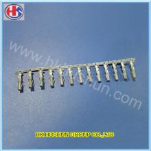 Connecteur de borne en laiton métallique personnalisé Bornes électriques (HS-DZ-0088)