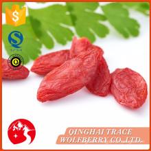 Various good quality certified organic goji