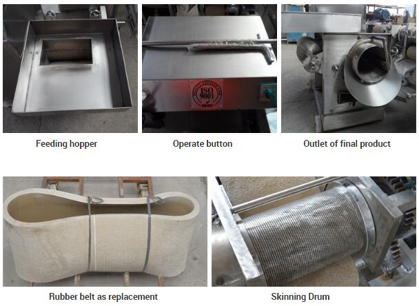 Fish Deboning Machine Bone Separator