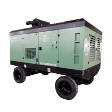 185Cfm Diesel Screw Air Compressor Portable Compressor