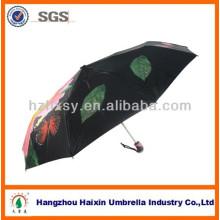 21 ' 8k flor guarda-chuva de dobramento guarda-chuvas 2014 moda Bali chique de impressão