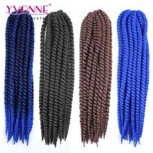 Cheveux synthétiques Crochet Extensions de cheveux