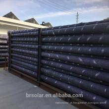 A luz de rua solar da lâmpada 40w conduziu o suporte ajustável galvanizado estrada da iluminação para o painel solar