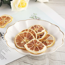 Rebanadas de fruta de limón secas de frutos secos de alta calidad