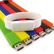 USB Disk Silicone Wristbands