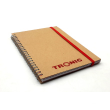 High Quality Spiral Paper Notebook Kraft