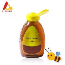Raw polyflower honey and milk