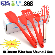 Fashion Home&Garden Baking Useful Tool Silicone Kitchen Utensil Set
