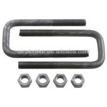 Trailer Square U Bolt with Nuts