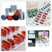 Taiwan Material Clear Transparente Blister Verpackung Hartes PVC