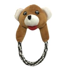 Brinquedo do animal de estimação do filhote de cachorro da corda