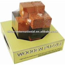estilo iq imagin puzzle de madeira