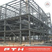 Armazém projetado profissional da construção de aço com a instalação fácil