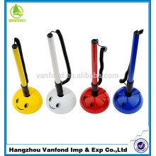 Smile ball pen,promotional desk ball pen with holder