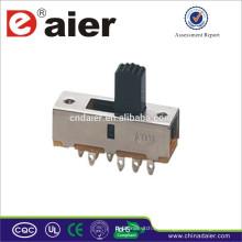 SS23F02 Daier interruptor deslizante eléctrico hecho en China interruptor deslizante de 3 posiciones