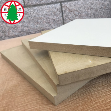 18mm MDF sheet melamine MDF board