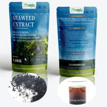 Natural organic fertilizer biostimulants fully water soluble alga alginic acid seaweed extract in 1kg bag
