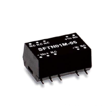 1W 5V 12V 15V Meanwell SFTN01 series SMD Package DC-DC Unregulated Converter