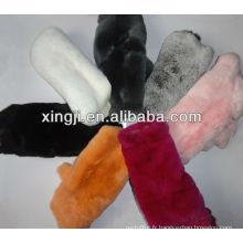 Peaux de lapin en peau de lapin rex et naturelles de première qualité