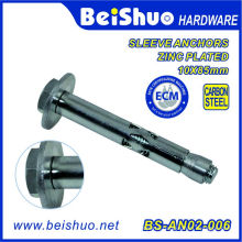 Galvanized Sleeve Anchor with Hex Nut/Anchor Bolt /Sleeve Anchor
