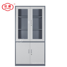 Fábrica que vende diretamente a linha fina 4 armário de aço do aço do escritório da porta
