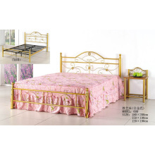 Gold Fashion Popular Metal Painting Bed (608 #)