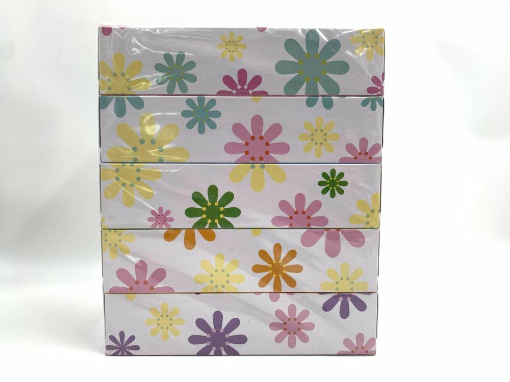 196 * 198mm 200sheets Animal Box Facial Tissue