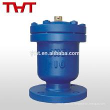 Válvula de liberación de aire de brida de orificio único de fundición dúctil