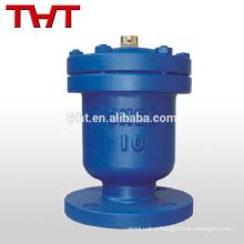 Cast ductile iron single orifice flange air release valve