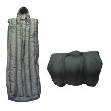 Saco de dormir do exército em tecido de alta qualidade