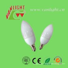 Bougie forme CFL 7W-9W (VLC-CDL-7W-9W)